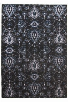 Bild: Ornament Teppich Timeless 001 - Anthrazit