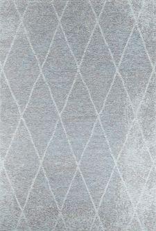 Bild: Vintage Teppich - Fine Lines - Aqua