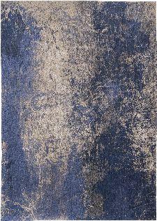 Bild: Louis de poortere Vintageteppich Cracks (Abyss Blue; 230 x 330 cm)