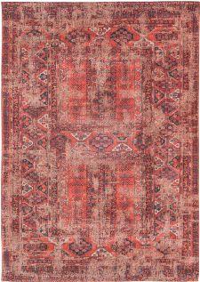 Bild: Louis de poortere Baumwollteppich Hadschlu (Red; 290 x 390 cm)