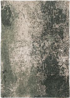 Bild: Louis de poortere Vintageteppich Cracks (Dark Pine; 140 x 200 cm)