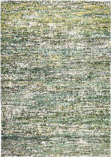 Bild: Louis de poortere Baumwollteppich Sari (Infinite Greens; 140 x 200 cm)
