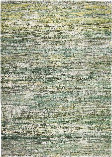Bild: Louis de poortere Baumwollteppich Sari (Infinite Greens; 290 x 390 cm)