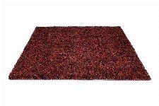 Bild: Schurwollteppich Dots (Rot; 140 x 200 cm)