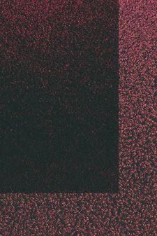 Bild: Frisee Teppich mit Schlingenbordüre Twinset Skyline (Bordeaux; 250 x 350 cm)