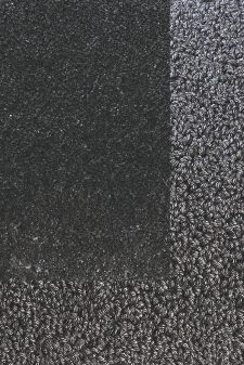 Bild: Frisee Teppich mit Schlingenbordüre Twinset Skyline (Anthrazit; 250 x 350 cm)