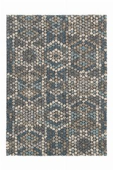 Bild: Schurwollteppich Dart Mexico (Grau; 200 x 300 cm)