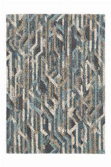 Bild: Schurwollteppich Dart Metro (Grau; 140 x 200 cm)