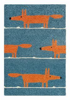 Bild: Teppich Mr Fox (Denim; 140 x 200 cm)