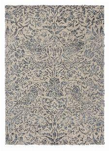 Bild: Morris & Co. Wollteppich Pure Strawberry Thief (Ink; 200 x 280 cm)
