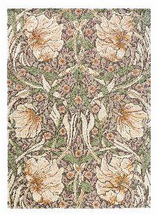 Bild: Morris & Co. Designerteppich Pimpernel (Aubergine; 250 x 350 cm)