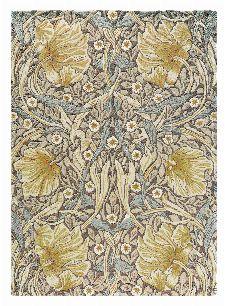 Bild: Morris & Co. Designerteppich Pimpernel (Bullrush; wishsize)