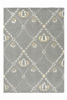 Bild: Morris & Co. Schurwollteppich Pure Trellis (Lightish grey; 140 x 200 cm)