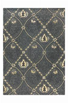 Bild: Morris & Co. Schurwollteppich Pure Trellis - Black ink