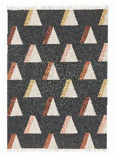 Bild: Brink&Campman Teppich Kashba wigwam (Schwarz; 160 x 230 cm)