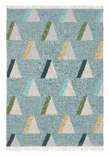 Bild: Brink&Campman Teppich Kashba wigwam (Hellblau; 160 x 230 cm)