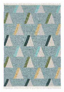 Bild: Brink&Campman Teppich Kashba wigwam (Hellblau; 200 x 280 cm)