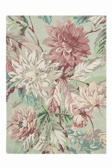 Bild: Sanderson Teppich Dahlia&Roseship 50607 (Mulberry; 250 x 350 cm)