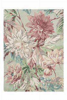 Bild: Sanderson Teppich Dahlia&Roseship 50607 (Mulberry; wishsize)