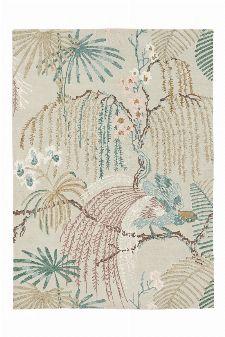 Bild: Sanderson Teppich Rain Forest 50701 (Orchid Grey; 140 x 200 cm)
