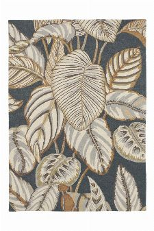Bild: Sanderson Teppich Calathea 50805 - Charcoal