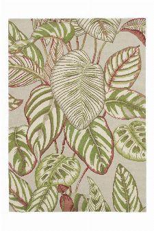 Bild: Sanderson Teppich Calathea 50807 (Olive; 140 x 200 cm)
