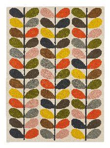 Bild: Orla Kiely Designerteppich Classic Multi Stem (Bunt; 250 x 350 cm)