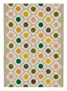 Bild: Orla Kiely Designerteppich Spot Flower Multi (Bunt; 120 x 180 cm)