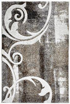 Bild: Vintage Teppich - Ranken (Taupe; 120 x 170 cm)