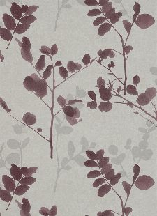 Bild: Floraltapete 4476 (Lila)