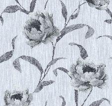 Bild: Floraltapete Glitzer 4540 (Weiß)