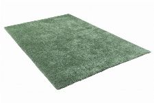 Bild: Hochflor Teppich - Soft Uni (Light Green)