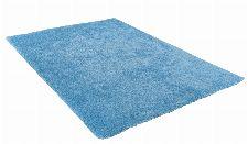 Bild: Hochflor Teppich - Soft Uni (Light Blue)