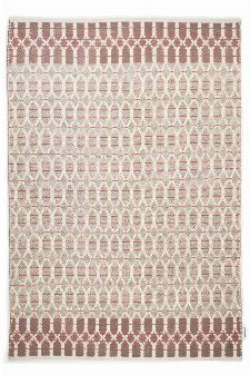 Bild: Teppich Smooth Comfort - Small Pattern (Rot; 65 x 135 cm)