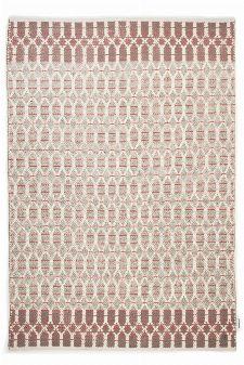 Bild: Teppich Smooth Comfort - Small Pattern - Rot