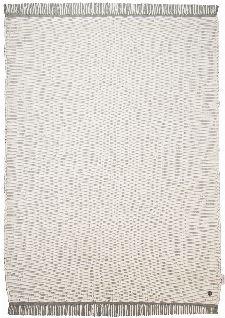 Bild: Flickenteppich - Cotton Color (Weiß; 60 x 120 cm)