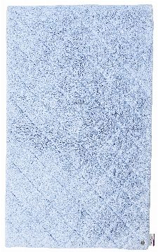 Bild: Tom Tailor Badematte Cotton Pattern (Blassblau; 60 x 60 cm)
