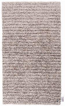 Bild: Tom Tailor Badezimmerteppich Cotton Stripe (Sandbeige; 100 x 60 cm)