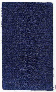 Bild: Tom Tailor Badezimmerteppich Cotton Stripe (Navy; 60 x 60 cm)