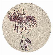 Bild: Designer Teppich Ted Baker Tranquility - Rund (Beige; 200 x 200 cm)