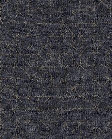 Bild: Eijffinger Vliestapete Topaz 394534 - Graphic (Blau)