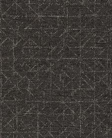 Bild: Eijffinger Vliestapete Topaz 394535 - Graphic (Anthrazit)
