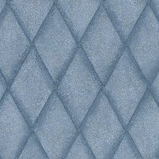 Bild: Marburg Vliestapete Platinum 31005 Raute (Jeansblau)