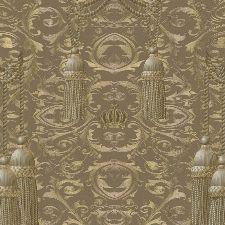 Bild: Marburg Vliestapete La Vida 52549 Barockdesign (Gold)