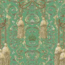 Bild: Marburg Vliestapete La Vida 52706 Barockdesign (Grün)