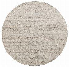 Bild: Royal Berber Teppich - meliert - 150cm Rund - Beige