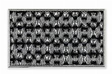 Bild: ASTRA Türmatte - Honeycomb (Silber)