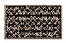 Bild: ASTRA Türmatte - Honeycomb (Rose Gold)