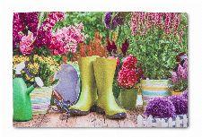 Bild: ASTRA Türmatte - Eco Living Garten (Bunt)