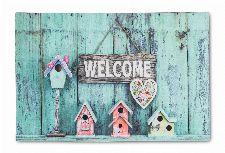 Bild: ASTRA Türmatte - Eco Living Vogelhäuser Welcome (Bunt)